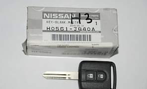 Ключ зажигания на nissan H0561JG40A - Фото #2