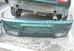 Бампер задний Mitsubishi Colt CJ тюнинг - Фото #1