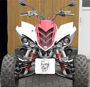 Линзованные фары Hella для Yamaha Raptor 700 - Фото #2