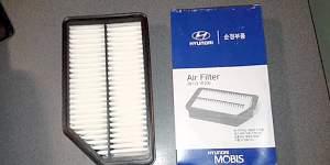 Оригинальный воздушный фильтр Hyundai Solaris - Фото #1
