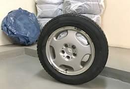 Диски Mercedes, шины Dunlop Winter R16 - Фото #1