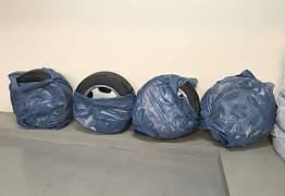 Диски Mercedes, шины Dunlop Winter R16 - Фото #4