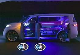 Накладные лазерные логотипы Тойота/Мицубиси/Фиат - Фото #1