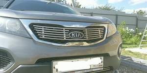 Накладка решетки радиатора Киа Соренто Kia Sorento - Фото #2