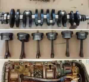Двигатель бмв (BMW) M54B25 256S5 2.5 бензин на з/ч - Фото #1